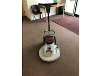 Floor burnisher high speed (hard floor polisher)