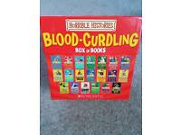 Horrible Histories Blood Curdling Box of Books