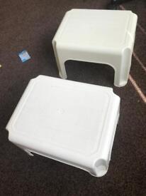 Kids plastic stool chair