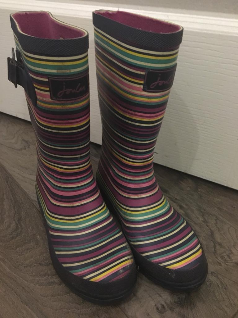 5db8a6303d6fc5 Joules wellies size 13 childrens