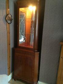 Lovely corner cabinet