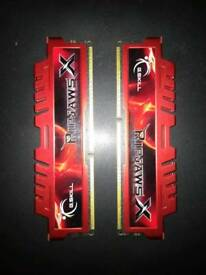 Ripjaws V series 2x4gb 1600mhz ddr3 ram
