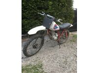 Scrambler field bike running the best all working cheap for quick sale 300 pound