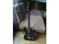 Vintage Rockster Solid Body Electric Guitar with Spiderman