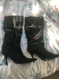 Real Suede Boots