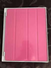 Pink Apple iPad 2nd Generation Smart Cover