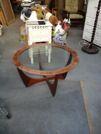 G plan astra coffee table
