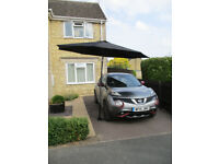 Parasol Holder for the car - GREAT for picnics; car shows; charity events etc