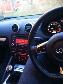 Audi S3 manual, bose upgrade, rain and light sensors, private plate (rare) colour