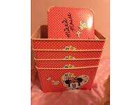 Mini mouse toy box x4 £7 for all!!!!!