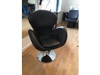 6 salon styling chairs