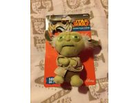 Star Wars Yoda Talking Plush Keyring