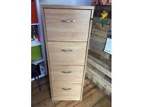 Beech Home/Office Filing Cabinet