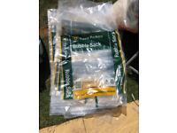 FREE 10 Unused rubble bags