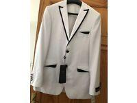 Brand New White Paulo Boselli Man Costume