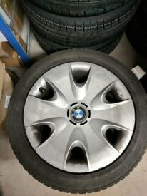 Set of 4 BMW Winter Wheels/Tyres (suitable for Series 1)