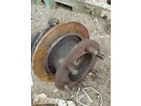 Iveco daily front Wheel hub for 6 bolts. Very good condition