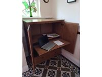 Large Pine Home Office/Computer/Work Cabinet
