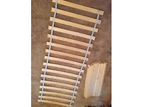 Ikea Luroy Double Bed Frame Slats