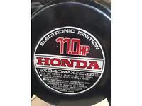 Honda Engine for pressure washer set up.