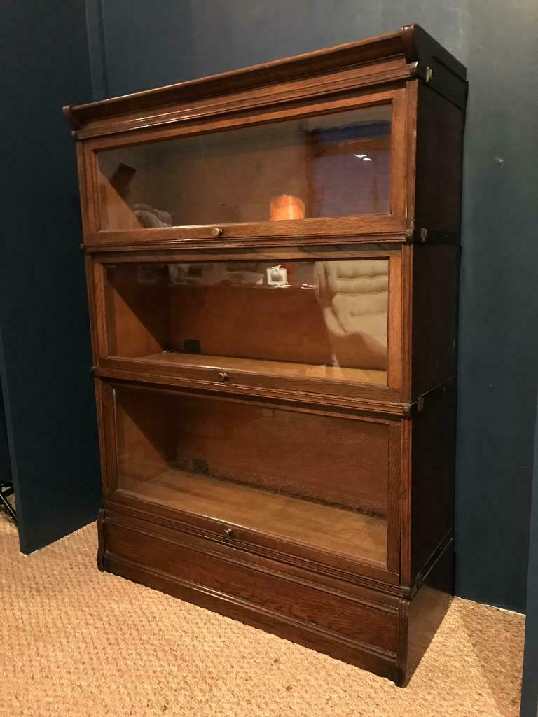 Sectional Antique Bookcase Globe Wernicke Style In Salisbury Wiltshire Gumtree