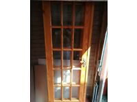 2 glass doors - free