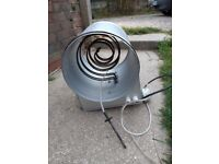 3000W inline heater comes with temperature control!
