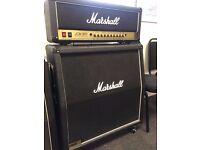 Marshall JCM 900 Dual Reverb 100 Watt Valve Head and 4x12 Speaker Cabinet