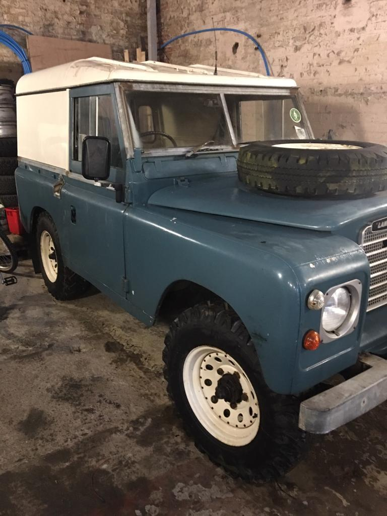 Land Rover 88 Series 3 Diesel Barn Find Classic Restoration Project