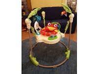 Fisher-Price Rainforest Jumperoo - All features working and in great condition