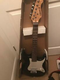 Elevation 3/4 size electric guitar and amplifier for sale or swap