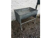 Vintage Milking parlour washing trough.