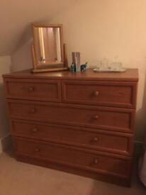Draws for sale - mahogany