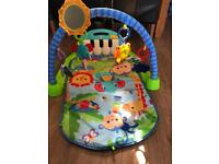 Fisher price as new kick and play piano gym activity play mat