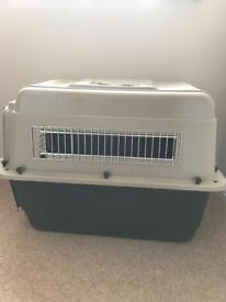 Large travel crate for dogs - authorised for airplanes