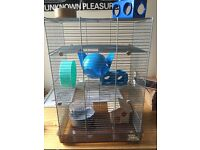 Hamster/Mouse/Rat Cage three tier
