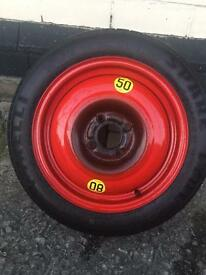 Ford Focus spare wheel