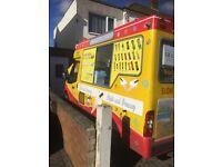 Ice Cream Van Worker