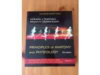 Principles of Anatomy and Physiology by Gerard Tortora and Bryan Derrickson (12th ed, paperback)