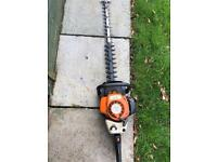 Stihl hs 81 hedgecutter hedge trimmerwith big bar