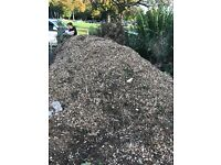 Free mulch, wood chippings, garden compost