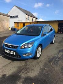 Ford focus 1.6 TDCI Titanium, Low miles full service history, fully loaded