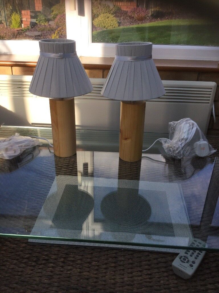 New Table lamps (Pair)