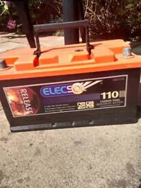 Battery 110 v charged