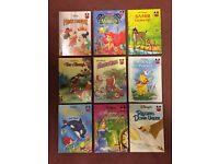 9 Disney Hardback Story Books.