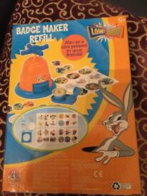 Loony tunes official badge refill making kit.