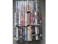 Job lot of mixed genres VHS films 79 in total