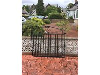 Wrought iron Drive and garden gates