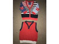 Small bundle of boys red clothes 12-18 months