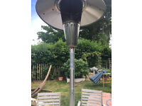 Patio Table Heater with Gas Bottle